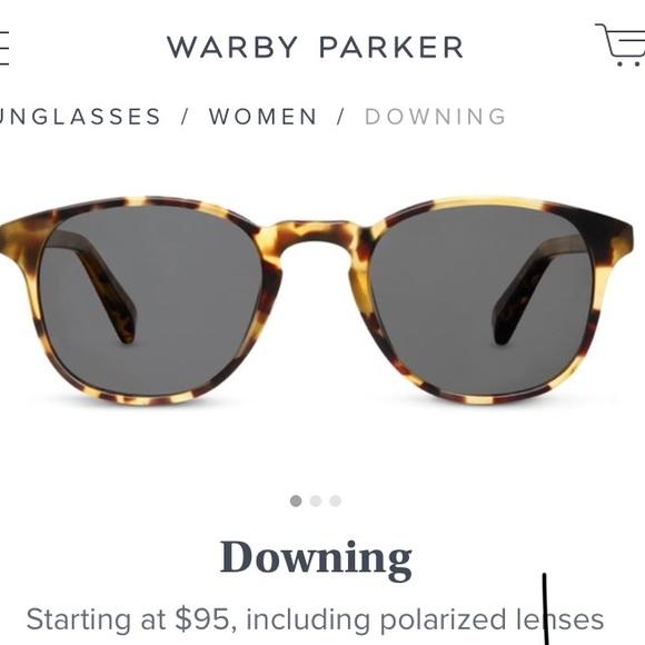 b5827f4d60 Warby Parker Downing Tortoise Shell Sunglasses. M 5ac37ecd2c705d0b85192b79